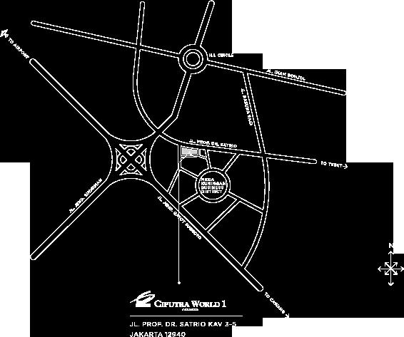 ciputra-map